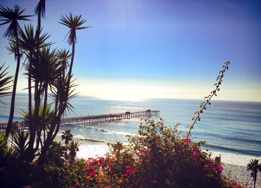 Municipal Pier and San Clemente Beach