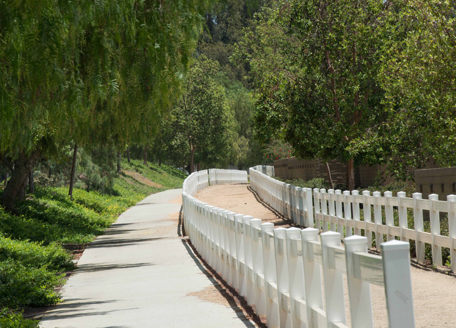 Santiago Creek Bike Trail