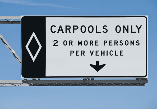 carpools only 2 or more persons per vehicle