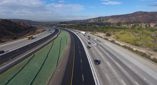 Major 91 Express Lanes Paving Completed in Record Time