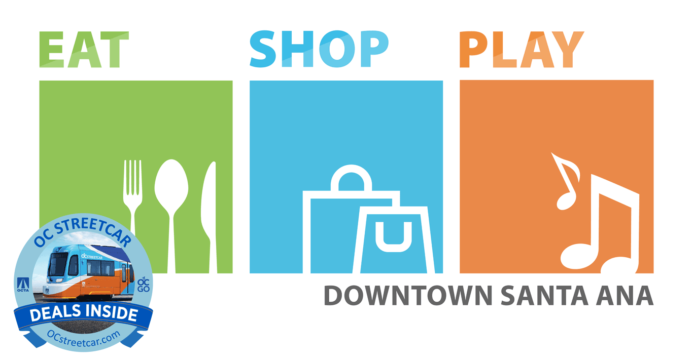 OC Streetcar Eat Shop Play graphic
