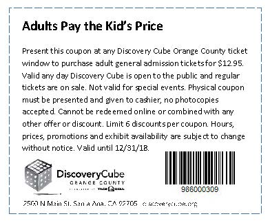 Discovery Cube Coupon >> Orange County Transportation Authority