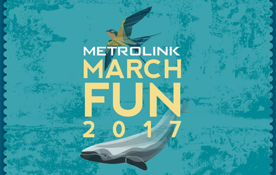 Celebrate Whales and Swallows in March with Metrolink
