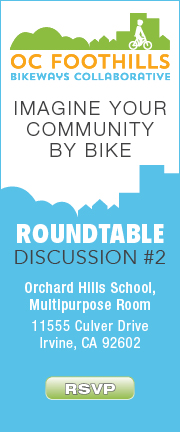 OC Foothills Imagine Your Community by Bike