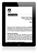 iPad Agendas Download
