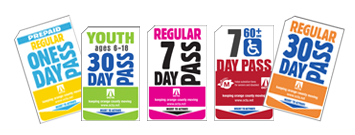 bus pass collage