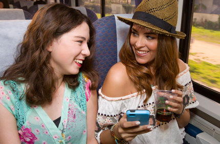 Summer Travel on the Pacific Surfliner Phone