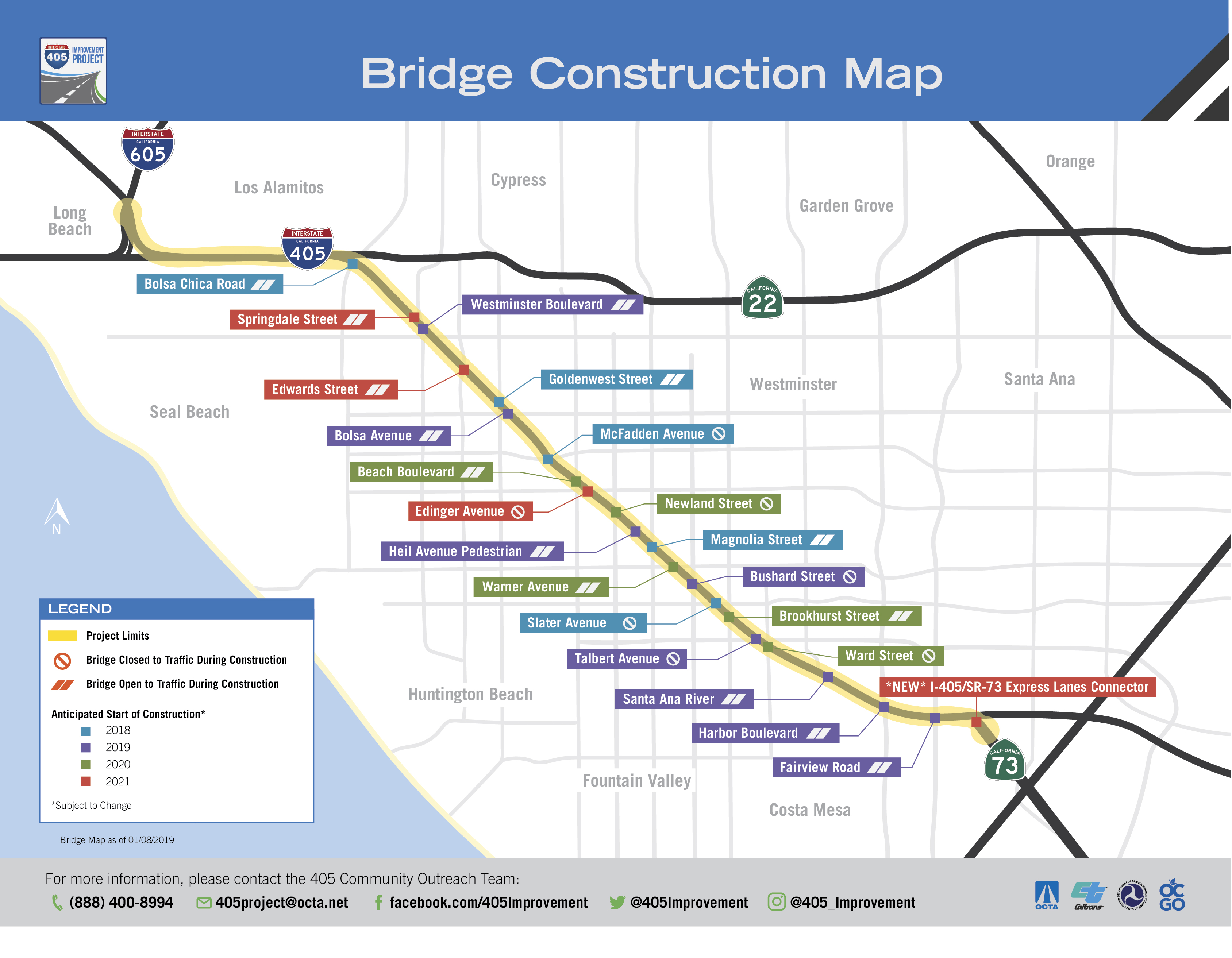 I-405 Improvement Project on