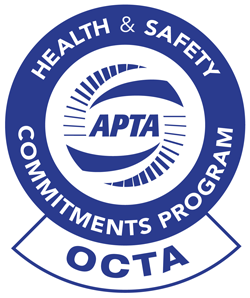 OCTA APTA seal icon