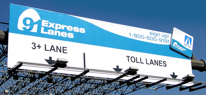 91 Express Lanes Overview