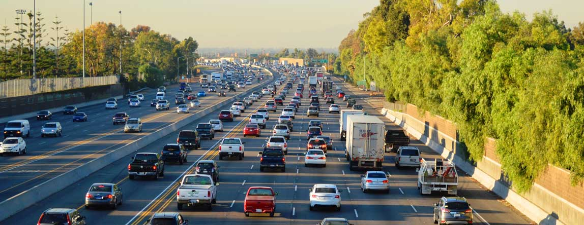 Photo of cars in traffic