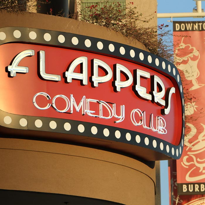 Flappers Comedy Club & Restaurant
